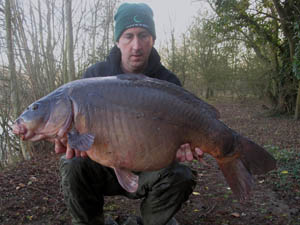 40.10 nailed on the new size 5 chod hook.