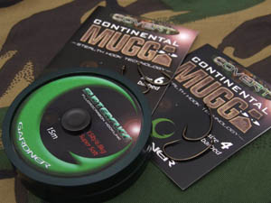 The effective combination of the Covert Continental Mugga hooks & 15lb Subterfuge Super Soft