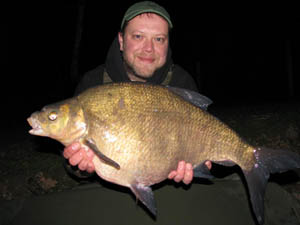 'I had more thatn my fair share' as this big bream shows