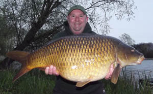Rich Adams 32lb 4oz common