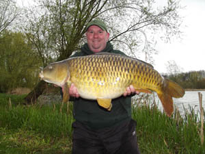Rich Adams 30lb 8oz common