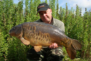 A lovely scaley 20lb+ mirror