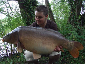 26lb 12oz of old uncaught mirror